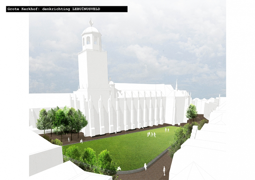 Grote Kerkhof: Denkrichting Lebuïnusveld © LANDLAB